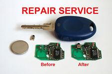 Repair Service for Fiat Bravo Panda Punto Scudo 1 button remote key repair fix