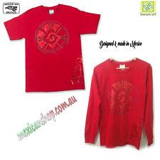 Mexican T-shirt men's, Mayan symbol, Tribal, Ethnic, 100%cotton, Serigraph print