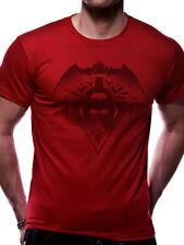 Official Batman Vs Superman Fear The Batman Print Unisex Short Sleeve Crew Neck