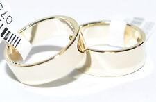 1 Paar Trauringe Gold 585 Gelbgold - Breite 6mm und 7mm - Stärke 1,30mm