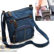 Fashion Women Denim Shoulder Satchel Satch Purse Crossbody Handbag Messenger UK