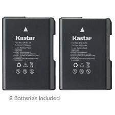 Kastar EN-EL14 Battery & Dual Fast Charger for Nikon  D5600 Df D3300 D3400 D5100