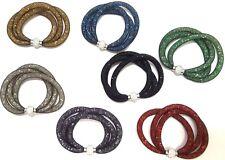 Swarovski Elements Triple Ball Bracelet by Davinci Collections