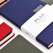 Note For Weeks Journal Undated Classic Diary 9.3*18.8cm DIY Slim Week Planner