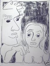 Bob Hamilton -Signed, Numbered -  Lithograph - Consolation (1969)