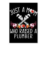 This Mom Raised A Plumber Sticker - Portrait
