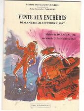 Catalogue Vente aux Enchères BD du 26.10.1997 Darnétal