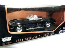 MotorMax 1967 Chevrolet Corvette Black 1/24 Diecast