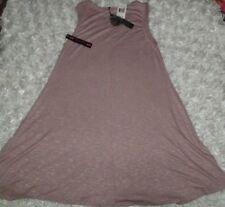 NWT Poof! Marled knit cape twist tank dress U pick Med Pink or Black Small Olive