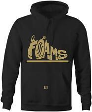 """Foams"" Hoodie to Match ""Metallic Gold"" Foams"