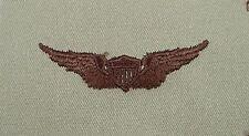 US Army Desert Tan Cloth Aviator Pilot Badge / Wing