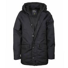 Vintage Industries Parka Roysten Jacket Men's Winter Jacket Navy