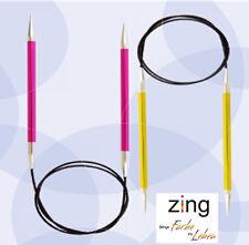 KnitPro Aiguille à tricoter circulaire Zing Aluminium coloré pelliculé 2,00 12mm