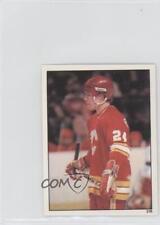 1982-83 Topps Album Stickers #216 Jim Peplinski Calgary Flames Hockey Card