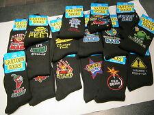 Novelty Socks - Mens - Fit Size 6 - 11