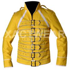Bohemian Rhapsody Freddie Mercury Costume Cotton Biker Outfit Jacket - BEST SALE