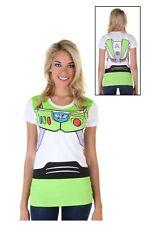 Womens Toy Story Buzz Lightyear Costume T-Shirt