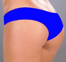 3002 Blue Booty Boy Shorts Yoga Gym Hipster Roller Bikini Dancer RAVE S M L