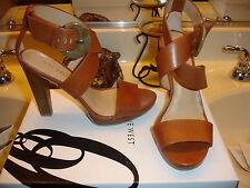 Nine West NW7Teri Teri Brown Leather Shoe Wedding Prom  Quality! 6 6.5 7 $99