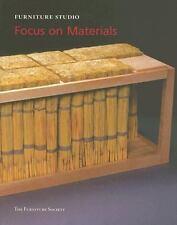Focus on Materials: Furniture Studio 4 (Furniture Studio series), , Good Book