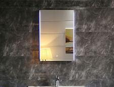 LED-Beleuchtung Badspiegel GS112 Lichtspiegel Wandspiegel mit Touch-Schalter