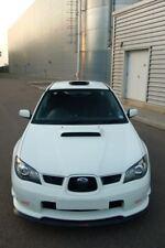 Subaru hawkeye impreza sti v-lip splitter lip spoiler 06 - 07