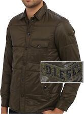 NWT Diesel Slim Fit Ultra Lightweight Nylon Slim Fit Shirt Jacket