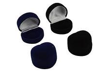 Luxury Faux Velvet Heart Ring Box Jewellery Display Storage Gift Box (VV11)