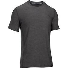 Under Armour T-shirt SuperVent Gris/Noir Haut de la fonction couche de base