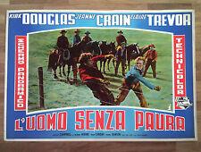 L'UOMO SENZA PAURA fotobusta poster Douglas Vidor Western Man Without a Star H50