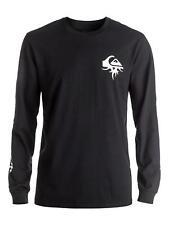 Quiksilver Herren T-Shirt BORNTHORNYLSTEE (Black)