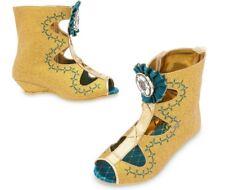 NEW Disney Store Brave Merida  Costume Shoes Dress Up Shoes Sz 7/8, 9/10