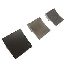 32mm HC Curvo Quadrato Pull Manopola Armadio Maniglia per mobili Accessori 3 finiture