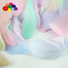 Diy 100 Pcs/Lot Colourful Goose feather 4-7cm 1-2 Inch Stage Props Dream Catcher
