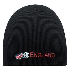 (54584) gorro de lana Hip-Hop gorro de punto Fútbol ENGLAND