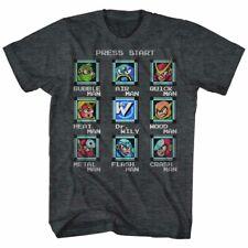Mega Man Stage Select Capcom Gamer Adult T Shirt
