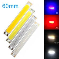 LED COB Bulb Strip Light 8 x 60mm 3W Car Light Table Lamp Source Chips DC 3V RLM