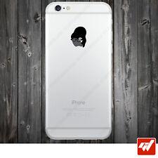 Sticker Autocollant Apple Iphone 4 5 6  Lot de 2X - SECRETAIRE LUNETTES IPH35