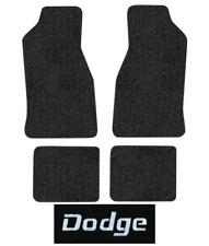 1982-1983 Dodge 400 Floor Mats - 4pc - Cutpile | Fits: 2DR, Convertible