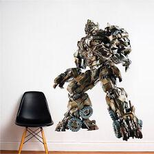 Megatron Decepticons Wall Decal Mural Villains Transformers Wall Stickers, e99
