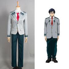 My Hero Academia Baku no Hero Acade Izuku Cosplay Costume Tie Boy's School Suit