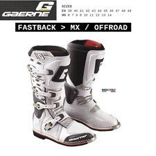 Stivali enduro cross moto GAERNE FASTBACK MX OFFROAD white bianco 2149002