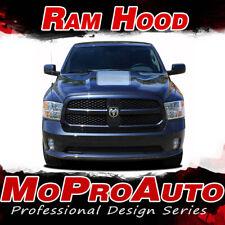 2013 Dodge Ram Factory Style Hood 3M Pro Vinyl Graphics Decals Stripes D09