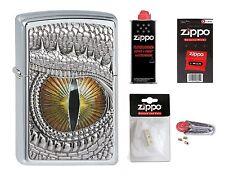 Zippo en TU MECHERO dragon eye emblema dragón con o sin accesorios a elección nuevo