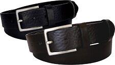 Cintura 4 CM extralunga in cuoio di toro bottalato
