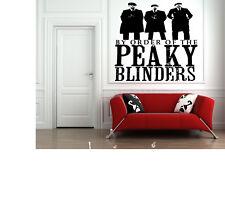 Peaky Blinders Wall Art Decal Sticker