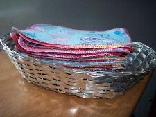 MamaBear Reusable Cloth Wipes (Unpaper) Set - Baker's Dozen, Cotton Velour