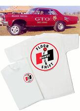 Hurst 60's Floor Shift T-Shirt - Gasser Muscle GTO SS AMX Mustang Rat Hot Rod