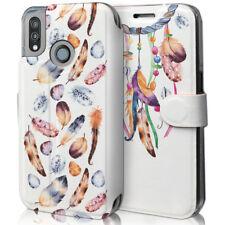 Mobiwear Book Style Handy Motiv Tasche Flip Case Hülle Cover Huawei P20 Lite