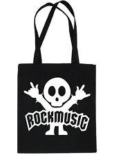 Música Rock Gracioso rockeros de Compras Bolso para toda la vida